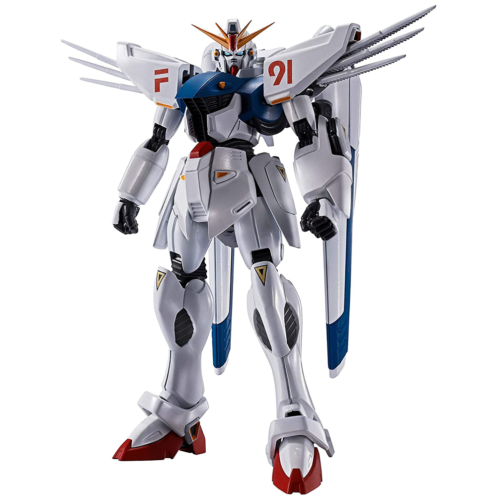 [해외] BANDAI SPIRITS 혼건담 F91 EVOLUTION-SPEC 약130mm