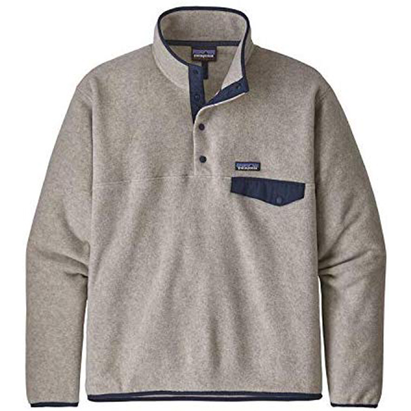 [해외] Patagonia Men 's Lightweight Synchilla Snap-T Fleece Pullover OAT 파타고니아 후리스